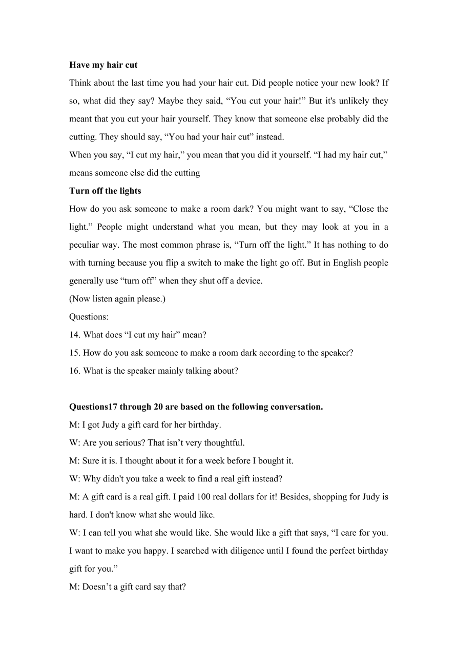上海市宝山区2021届高三英语12月一模试卷(附答案Word版)